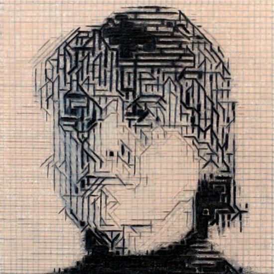 France Simard étude graphite