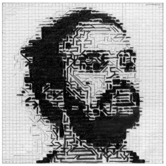 J.B. étude graphite