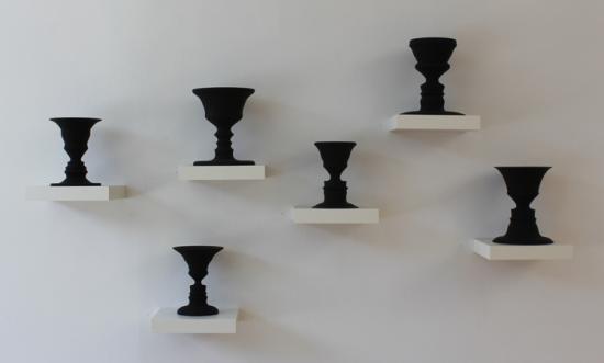 6 vases portraits