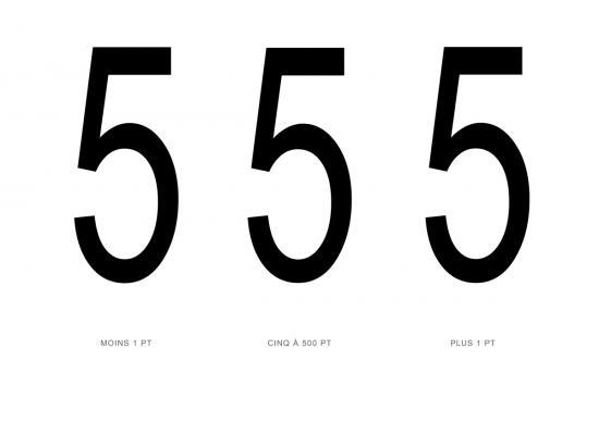 five at 500pt