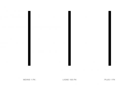 100px line