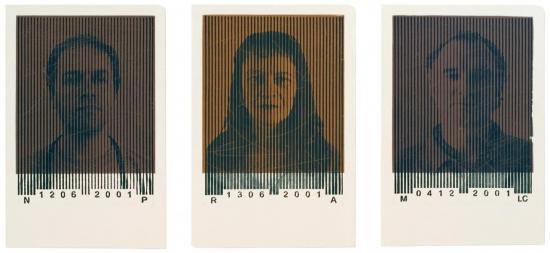 Portraits code-barre NP.RA.MLC.