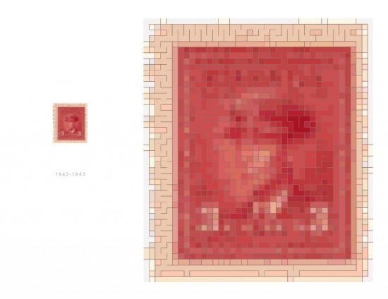 timbre 1942-1943