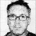 Damien Hirst Portrait